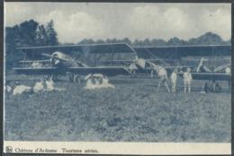 CPA Château D'Ardenne ( Houyet ) Tourisme Aérien ( Avions ) - Houyet