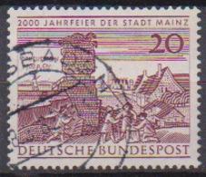 BRD 1962 MiNr.375  2000 Jahre Mainz ( A609 ) Günstige Versandkosten - BRD