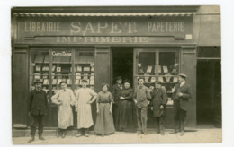 CPPhoto: 71 - TOURNUS - LIBRAIRIE PAPETERIE SAPPET - Frankreich