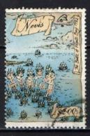 NEVIS - 1989 - BATTAGLIA NAVALE DEL 1782 - USATO - Anguilla (1968-...)