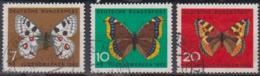 BRD 1962 MiNr.376,377, 378  Jugend: Schmetterlinge ( A611 ) Günstige Versandkosten - BRD