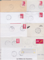 Lot Département 70 HAUTE SAONE : 25 TàD Manuel De GA AN Guichet Annexe RAU AP Agence Postale : Vesoul Champvans GS - Sin Clasificación
