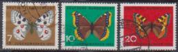 BRD 1962 MiNr.376,377, 378  Jugend: Schmetterlinge ( A612 ) Günstige Versandkosten - BRD