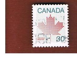 CANADA - SG 1032  - 1982  MAPLE LEAF 30  -  USED - 1952-.... Reign Of Elizabeth II