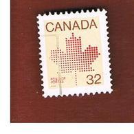 CANADA - SG 1032b  - 1983  MAPLE LEAF 32  -  USED - 1952-.... Reign Of Elizabeth II