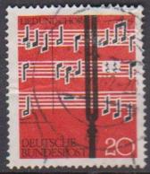 BRD 1962 MiNr.380  Lied Und Chor ( A613 ) Günstige Versandkosten - BRD