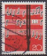 BRD 1962 MiNr.380  Lied Und Chor ( A614 ) Günstige Versandkosten - BRD