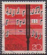 BRD 1962 MiNr.380  Lied Und Chor ( A615 ) Günstige Versandkosten - BRD