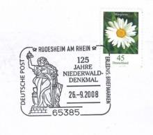 Margerite Kontaktdermatitis - Rüdesheim Am Rhein Niederwalddenkmal EInigung Deutschland 1871 SST - Disease