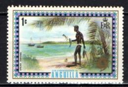 ANGUILLA - 1972 - Spear Fishing - MNH - Anguilla (1968-...)