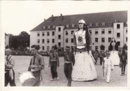 CARTE PHOTO PRISONNIER DE GUERRE OFLAG IIA CORTEGE GOLIATH ATH CENSURE GEPRUFT 21 - Oorlog 1939-45