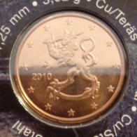 ===== 5 Cent Finlande 2010 Sorti Du BU (8 Pièces) Mais Légèrement Oxydé ===== - Finland