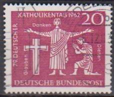 BRD 1962 MiNr.381  Deutscher Katholikentag, Hannover ( A618 ) Günstige Versandkosten - BRD