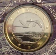 ===== 1 Euro Finlande 2010 Sorti Du BU (8 Pièces) Mais Avec Un Pic Oxydé ===== - Finland