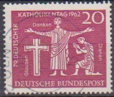 BRD 1962 MiNr.381  Deutscher Katholikentag, Hannover ( A620 ) Günstige Versandkosten - BRD