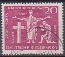 BRD 1962 MiNr.381  Deutscher Katholikentag, Hannover ( A621 ) Günstige Versandkosten - BRD