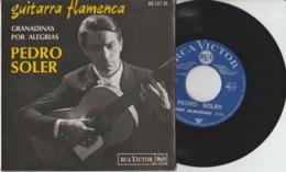 Disque Vinyle 45 Tours—Pedro Soler—Guitarra Flamenca—RCA 86.137 M—1966 - 45 Rpm - Maxi-Single