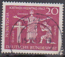 BRD 1962 MiNr.381  Deutscher Katholikentag, Hannover ( A622 ) Günstige Versandkosten - BRD