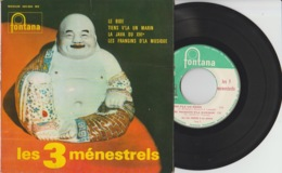 Disque Vinyle 45 Tours—Les 3 Ménestrels—Le Bide—Fontana 460.864 ME—1963 - 45 Rpm - Maxi-Singles