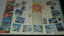 Dépliant Touristique Des Grisons  Suisse Switzerland - Tourism Brochures