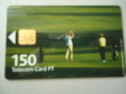 PORTUGAL  USED CARDS SPORTS  GOLF - Portugal