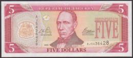 LIBERIA - 5 Dollars 2011 {Central Bank Of Liberia} UNC P.26 G - Liberia