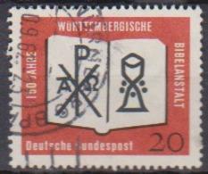 BRD 1962 MiNr.382  150 Jahre Württembergische Bibelanstalt ( A623 ) Günstige Versandkosten - BRD