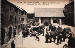 FR66 FONT ROMEU - Mtil 305 - Ermitage - Pèlerinage - Attelages Autocar - Animée - Belle - Frankrijk