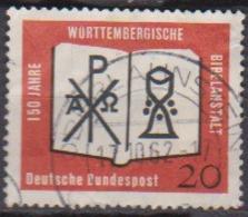 BRD 1962 MiNr.382  150 Jahre Württembergische Bibelanstalt ( A624 ) Günstige Versandkosten - BRD