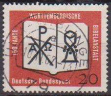 BRD 1962 MiNr.382  150 Jahre Württembergische Bibelanstalt ( A625 ) Günstige Versandkosten - BRD