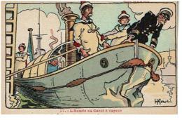 Nos Marins L' Avarie Au Canot A Moteur- N:77 Non Voyagee TBE - Gervese, H.
