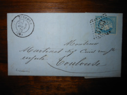 Lettre GC 3133 Rieumes Haute Garonne Avec Correspondance - Marcophilie (Lettres)