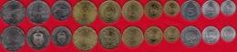 Tunisia Set Of 11 Coins: 1 Millieme - 2 Dinars 1960-2018 UNC - Tunesië