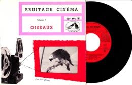 Disque Vinyle 45 Tours—Bruitage Cinéma—Volume 7—Les Oiseaux—EGF 890 M—1966 - 45 G - Maxi-Single