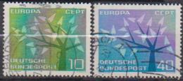 BRD 1962 MiNr.383 - 384  Europa ( A628 ) Günstige Versandkosten - BRD