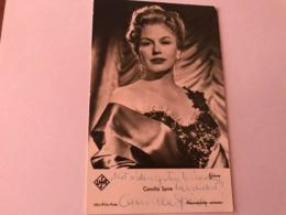 Camilla Spira Hand Signed Photo Autograph 10x15 Cm - Fotos Dedicadas