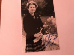 Paula Vessely Hand Signed Photo Autograph 10x15 Cm - Fotos Dedicadas