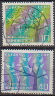 BRD 1962 MiNr.383 - 384  Europa ( A630 ) Günstige Versandkosten - BRD