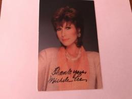 Michele Lee Hand Signed Photo Autograph 10x15 Cm - Fotos Dedicadas