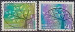 BRD 1962 MiNr.383 - 384  Europa ( A632 ) Günstige Versandkosten - BRD