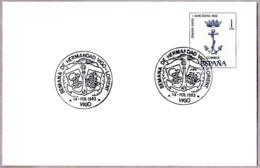 Matasellos SEMANA DE HERMANDAD VIGO-LORIENT. Vigo, Galicia, 1983 - Briefe U. Dokumente