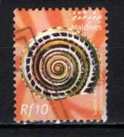 MALDIVE - 2003 - SUNDAL SHELL - USATO - Maldive (1965-...)