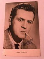 Bert Fortell Hand Signed Photo Autograph 10x15 Cm - Fotos Dedicadas