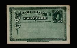 A6375) Newfoundland Postcard 1 Cent Unused Ungebraucht - Newfoundland
