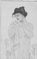 Art Nouveau   -Femme Très Romantique.   Kirchner ?  Scan - Vienne