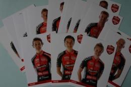 CYCLISME: CYCLISTE : EQUIPE PAUWELS BINGOAL 2019 COMPLETE - Ciclismo