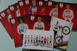 CYCLISME: CYCLISTE : EQUIPE CORENDON CIRCUS CYCLO CROSS  2019 COMPLETE - Ciclismo