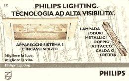 *ITALIA: PRIVATA RESA PUBBLICA - PHILIPS LIGHTING* - Scheda NUOVA (MINT) - Italië