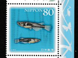 Japon. Musaraigne. Poissons. Fish - Poissons