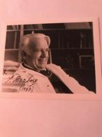 Gerhard Heiberg Hand Signed Photo Autograph 10x15 Cm - Fotos Dedicadas